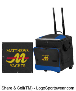 Matthews Collapsible Rolling 48-Can Cooler Design Zoom